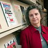 Record-Eagle/Douglas Tesner<br /> Nikki Sobkowski, board president for Peninsula Community Library, is involved in a funding dispute with Traverse Area District Library.