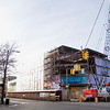 Record-Eagle/Jan-Michael Stump<br /> Work on the mixed-use building at 101 North Park Street in downtown Traverse City is nearing completion. The 70,000-square-foot structure will include commercial space and upper-floor condominiums. Realtor Lynne Moon of Real Estate One said last week that tenants in the new building should be announced within the next few weeks.