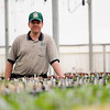 Record-Eagle/Jan-Michael Stump<br /> PlantMasters 3rd generation part-owner, Eric VanThomme, is getting ready for spring garden season. The Suttons Bay nursery grows its own plants on-site.