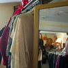 Record-Eagle/Jan-Michael Stump<br /> Holly Cvengros looks through clothes at Zany Consignment Boutique.