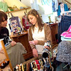"Record-Eagle/Jan-Michael Stump<br /> Holly Cvengros and her daughter Lauren, 13, look through jewlery at Zany Consignment Boutique. ""Here you can always find good stuff,"" said Holly, who said it was the only consignment shop Lauren liked to shop at."