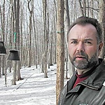 Record-Eagle/Sheri McWhirter<br /> Ken Borton, of Gaylord, faces a misdemeanor charge because state officials contend he isn't doing enough to prevent deer from eating at his bird feeders, a violation of Lower Michigan's deer and elk baiting ban.