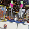 Record-Eagle/Lisa Perkins<br /> Forty Michigan high school teams competed in the FIRST (For Inspiration and Recognition of Science and Technology) Robotics district competition held Friday and Saturday at Traverse City Central High School.