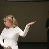 Record-Eagle/Keith King<br /> Nancy Deye, of Cedar, instructs a tai chi class at the Munson Community Health Center in Traverse City.