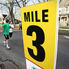 Record-Eagle/Keith King<br /> Runners near the finish line along Wadsworth Street.