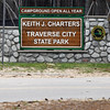 Record-Eagle/Jan-Michael Stump<br /> Traverse City State Park was renamed Keith J. Charters Traverse City State Park in July of 2011.