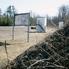 Record-Eagle/Jan-Michael Stump<br /> The shotgun range at the former Elk Rapids Sportsman's Club sits quietly in the March sun. Plans to turn the grounds into an 11-acre public park would require cleanup that includes consolidating, treating and capping soil contaminated with lead.