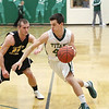 Record-Eagle file photo/Keith King<br /> Ryan Verschuren, left, and TC Central need to win Monday in order to face Zach McGuire and TC West.