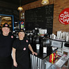 Record-Eagle/Keith King<br /> Scott and Rita Nitsche are owners of The Soup Cup - A Microsouperie, located at the old railroad depot in Traverse City. The restaurant has its soft opening this week with its grand opening Saturday.