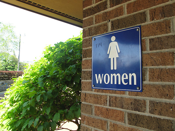 Record-Eagle/Vanessa McCray<br /> Public bathrooms at Clinch Park, near Traverse City's bayfront, are among only a handful of rest rooms in the downtown area where the public is welcome.