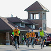Record-Eagle/Jan-Michael Stump<br /> Several dozen cyclists rode through Traverse City during Wednesday's Ride of Silence, an event that takes place in over 320 communities during National Bike Safety Month to honor cyclists who have been injured or killed while riding on public roadways. The event, sponsored by The Cherry Capital Cycling Club and TART, began at the former railroad depot near Woodmere and Eighth streets and rode in silence along city streets.