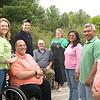 Record-Eagle/Jan-Michael Stump<br /> From left, Keith Bugai, Mindy Kujawski, Nate Kujawski, Adam Bugai, Dave and Linda Bugai, Yuray Coronado, Doriel Arauz and Mariela Diaz.