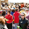 Record-Eagle/Jan-Michael Stump<br /> People wait in line to get their meals. By 3 p.m., more than 8,300 people received a plate of food.