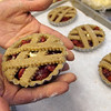 Record-Eagle/Douglas Tesner<br /> Cherry tarts made at Martha's Leelanau Table use locally grown fruit.