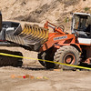 Record-Eagle/Jan-Michael Stump<br /> A 39-year-old from the Grand Rapids area was killed Wednesday when he was thrown from and run over by the front-end loader he was driving down a hill at the Keystone Road construction project. Work has been halted until the investigation, which includes the Grand Traverse Sheriff's Department and MIOSHA, is completed.
