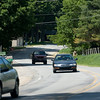 Record-Eagle/ Keith King<br /> Vehicles travel along South Long Lake Road on Tuesday.