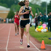 Record-Eagle/Jan-Michael Stump<br /> Traverse City Central's Julia Otwell wins the 1600 meters during the 35th annual Traverse City Record-Eagle Honor Roll track meet at Traverse City Central.