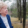 Record-Eagle/Douglas Tesner<br /> Alvina Ellis, operator of Alvina's Canoe Livery on Betsie River since 1934. Ellis turns 90 this week.