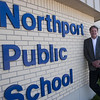 Record-Eagle/Douglas Tesner<br /> Northport Public School Superintendent Jeff Tropf says the school could close unless voters approve a millage renewal.