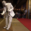 Record-Eagle/Tyler Sipe<br /> Harold Kranick performs as Charlie Chaplin at the re-opening of the State Theatre in November 2007.