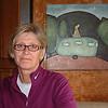 Record-Eagle/Marta Hepler Drahos<br /> Kirsten Hermansen sits in the dining room of her motor coach.