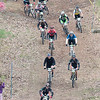 Record-Eagle/Jan-Michael Stump<br /> A flight of riders make their way down Mt. Holiday.