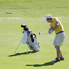 Record-Eagle/Keith King<br /> Traverse City Central's Nikolaj Brons-Piche hits the ball during his round of 74.
