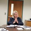 Record-Eagle/Jan-Michael Stump<br /> Mchigan Secretary of State Ruth Johnson.