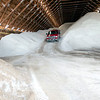 Record-Eagle/Douglas Tesner<br /> Ten thousand tons of salt are stored in the salt barn at the Grand Traverse Road Commission facility on LaFranier Road. The county has a total of 18,000 tons of salt on hand.