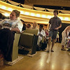 Record-Eagle file photo<br /> Attendees await for the start of an event at the City Opera House in downtown Traverse City. Traverse City commissioners will decide whether to approve a proposed three-year contract that would pass management of the venue to the Wharton Center for Performing Arts at Michigan State University.