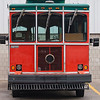 Record-Eagle/Jan-Michael Stump<br /> BATA is looking at options for its trolley. One option transit officials are looking at is for a pair of private companies to purchase the trolley and donate it to the Traverse City Film Festival.