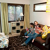 "Record-Eagle/Jan-Michael Stump<br /> Susan Campbell's East Bay home was remodeled in ways that would make it easier for her to care for her two adopted children with special needs, as well as have some space for herself. ""Sometimes it's hard to remember what it was like before,"" said Campbell, here with Brayden, 7, left, and Skyler, 5. ""It's so nice."""