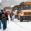 Record-Eagle/Douglas Tesner<br /> Suttons Bay Public Schools is in preliminary talks with Bay Area Transportation Authority about busing students to school.