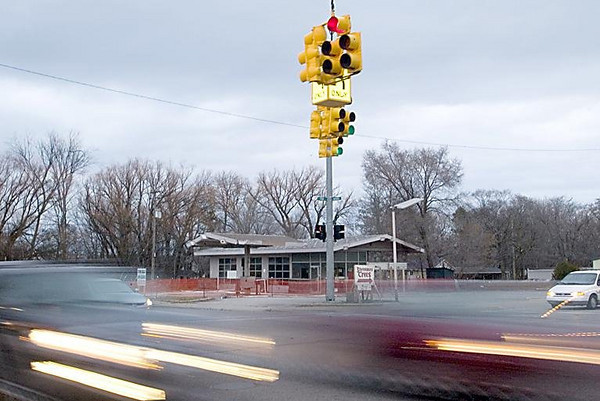 Record-Eagle/Jan-Michael Stump<br /> A lawsuit may be in the works to force ex-gas station owners to pay to clean up contamination at Front and Division streets.