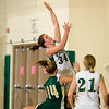 Record-Eagle/Jan-Michael Stump<br /> Traverse City West's Emily Ellison drives drives to the basket in a win over Zeeland West.