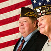 Record-Eagle/Jan-Michael Stump<br /> Jack Pickard and Joe Lada are members of the honor guard at Veterans of Foreign Wars Cherryland Post 2780.