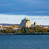 Record-Eagle/Jan-Michael Stump<br /> Downtown Traverse City is seen from West Grand Traverse Bay.