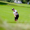 Record-Eagle file photo/Jan-Michael Stump<br /> Traverse City Central's Chelsea Guoynes chips on to the 11th green during the Lober Classic in August.