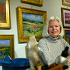 "Record-Eagle/Jan-Michael Stump<br /> ""I just hate to be bored,"" said Mary Eliowitz, who retired early with her husband Sam in 1988, and moved to their Leelanau County property 10 years later, where she has tried activities ranging from photography to writing to boxing to acrylic painting."