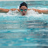 Record-Eagle file photo/Jan-Michael Stump<br /> Ellyson Makeski won the 200 individual medley in the Up North Invitational on Friday.