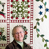 Record-Eagle/Jan-Michael Stump<br /> Marjorie Nelson will have two of her Baltimore Album quilts exhibited at the International Quilt Festival Nov. 3-7 in Houston.