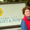 Record-Eagle/Jan-Michael Stump<br /> Former Traverse City mayor Margaret Dodd is behind a ballot initiative that would return control of Traverse City Light and Power to the city commission.