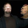 Record-Eagle/Jan-Michael Stump<br /> Hocus Pocus owner Tom Cook makes his own latex masks.
