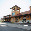 Record-Eagle/Jan-Michael Stump<br /> Urban Diversions owners Dale and Teresa Campbell won the Preservation Project of the Year for their restoration of the Pere Marquette Depot.