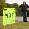 Record-Eagle/Jan-Michael Stump<br /> Debbie Luhrs is against the East Bay Township road millage.