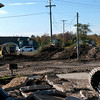 Record-Eagle/Douglas Tesner<br /> Crews recently began improvements at Greilickville Harbor Park in Elmwood Township.