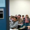 Record-Eagle/Jan-Michael Stump<br /> Participants listen to a class during the Bioneers Conference Friday at Northwestern Michigan College