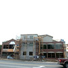 Record-Eagle/Jan-Michael Stump<br /> Construction progresses on a medical office building at the southwest corner of West Front and Division streets in Traverse City.