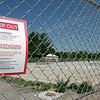 Record-Eagle/Douglas Tesner<br /> The Superfund site at Grand Traverse Overall Supply Co. property on  Cherry Bend Road.