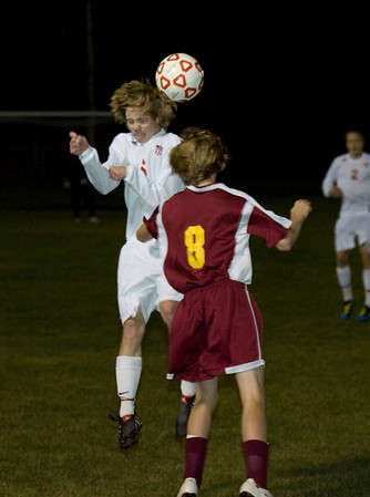 Record-Eagle file photo/Keith King<br /> Ryan Hartman and Suttons Bay are one of three area teams left in the playoffs.